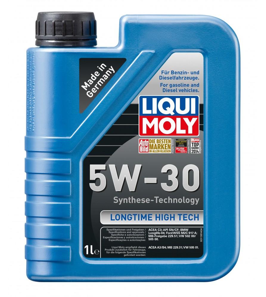 Aceite 100% sintético High Tech 5 W-40 1l
