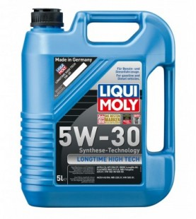 Aceite 100% sintético High Tech 5 W-40 5l